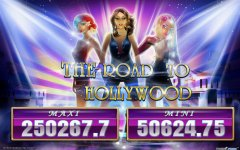 The Road To Hollywood. New Slot Single game.